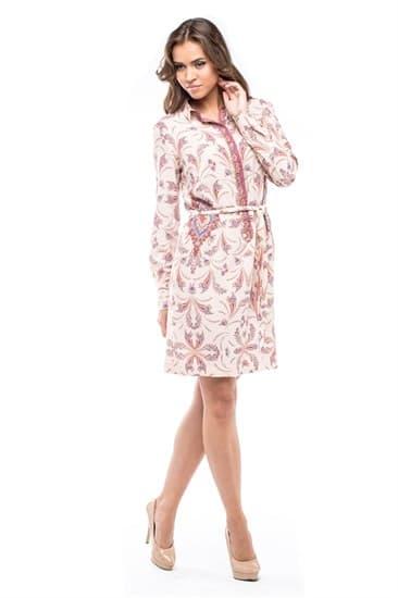 Платье-рубашка Мишель - фото 4700
