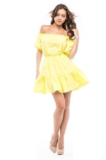 Платье мини  Кармен - фото 4799