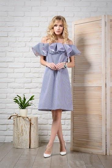 Платье Кармен-Волан - фото 4840