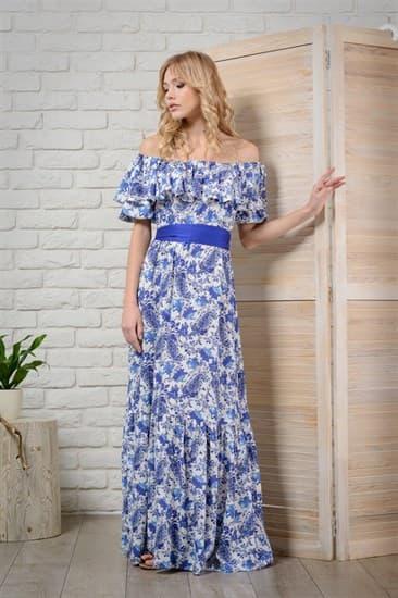 Платье  Кармен-Passion  макси - фото 4959