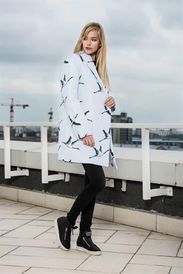 Пальто утепленное Журавли - фото 4974