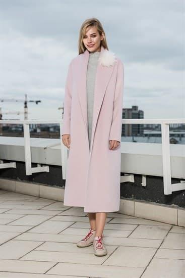 Пальто - халат Pink - фото 4976