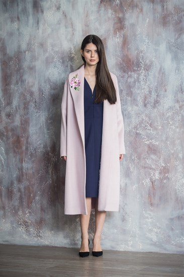 Пальто - халат Pink Rose - фото 5095