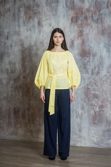 """Блузка """"Желтое облако"""" - фото 5100"""