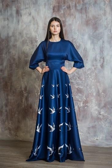 "Платье ""Журавли"" - фото 5110"