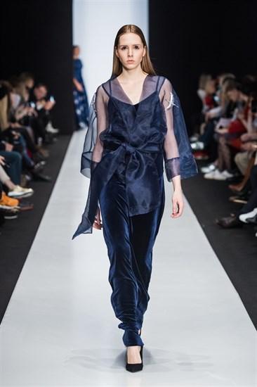 "Платье  ""Provokation Dress"" maxi blue - фото 5133"