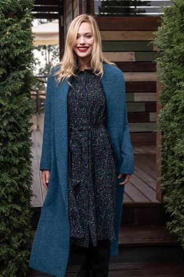 "Пальто-халат ""Blue Lama"" - фото 5214"