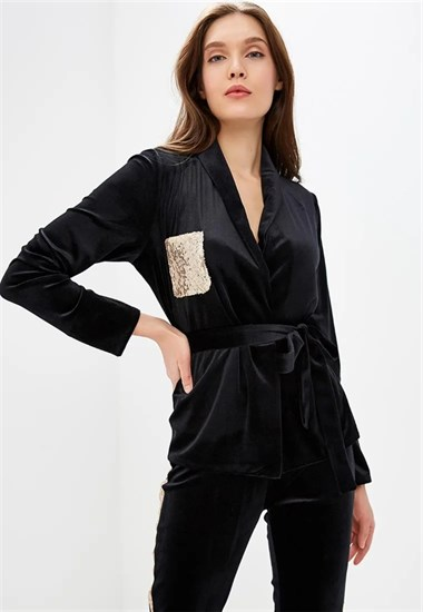 "Жакет ""Night suit"" Gold - фото 5340"
