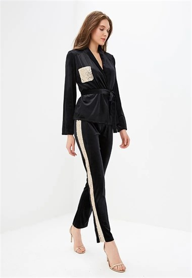 "Брюки ""Night suit"" Gold - фото 5346"