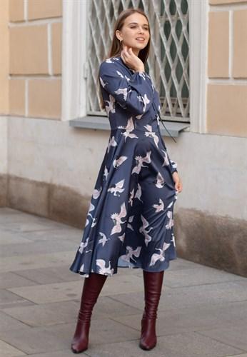 "Платье ""Журавли"" - фото 6049"