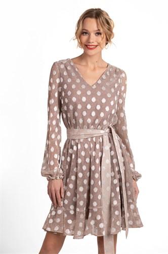 "Платье ""Silver Dots"" - фото 6282"
