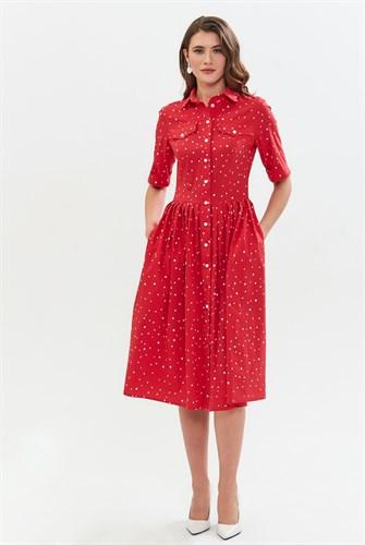 "Платье ""Dots pearl"" - фото 6369"