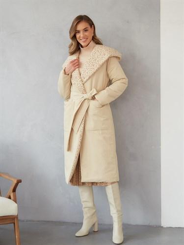 "Пальто утеплённое ""Grechka"" - фото 6701"