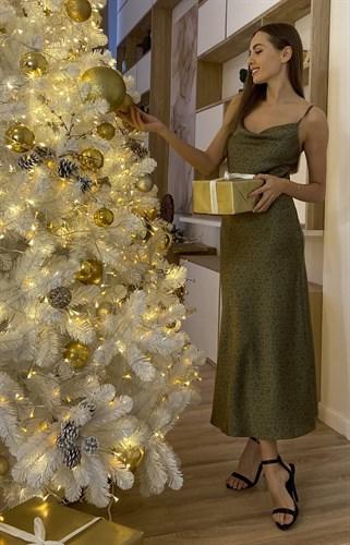 Платье Гречка Хаки - фото 6867