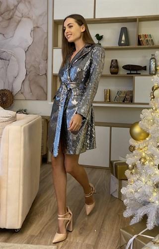 Платье пиджак - фото 6868
