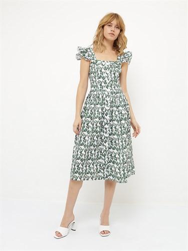 Платье-сарафан «Кактусы» - фото 6970