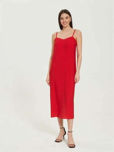 Платье-комбинация Natural Red - фото 7236