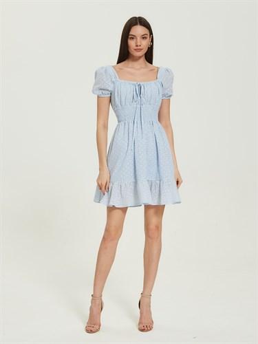 Платье Сotton Blue - фото 7260