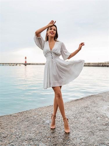 Платье «Дейнерис white» Мини - фото 7287