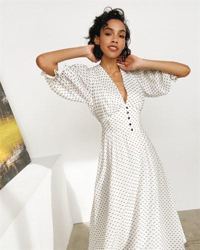 Платье «Дейнерис white» миди - фото 7290