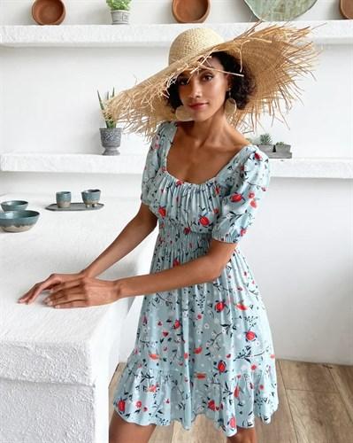 Платье «Brasil blue» - фото 7496