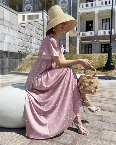 "Платье ""Selena"" pink - фото 7607"