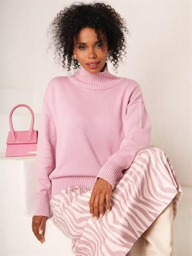 """Свитер """"Cotton"""" Pink - фото 7643"""
