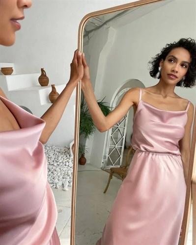 Платье Miami Пудра - фото 7733