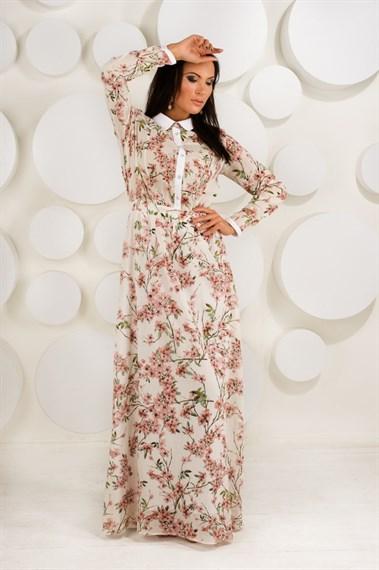 Платье макси  Сакура