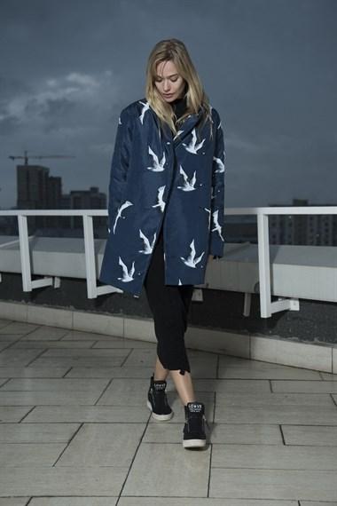 Пальто утепленное Журавли