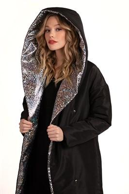 Пальто утепленное Silver cat Black