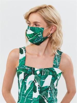 Маска защитная зеленая