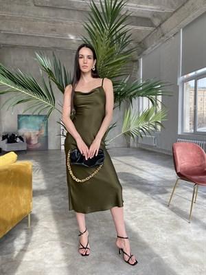 Платье-комбинация Хаки
