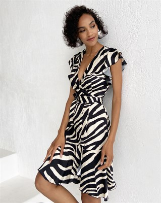 Платье Zebra Mini